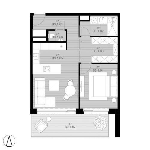 B7 Wohnung B3.1