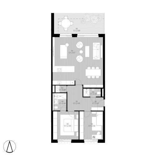 C2 Apartment C1.2