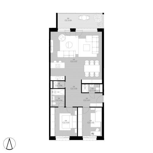 C5 Apartmán C2.3