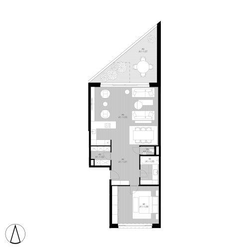 A1 Apartmán A1.1