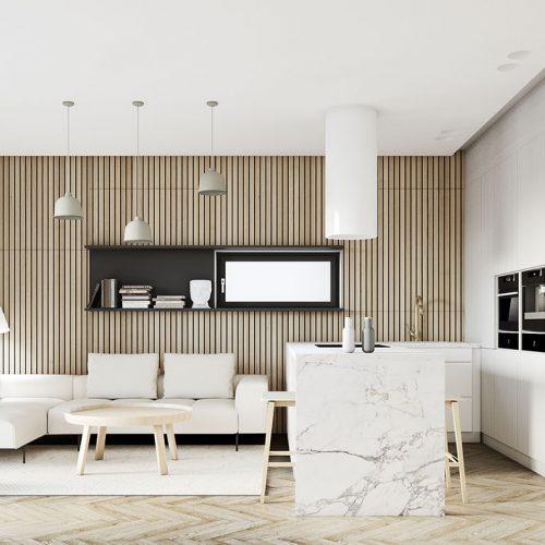 rezidencia K Železnej Studienke vizualizácia bytu