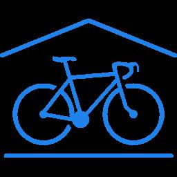 K Železnej Studienke - ikona vnútorné stojisko pre bicykle